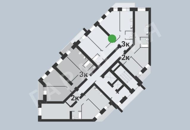 Вологда, 5 микрорайон, Маршала Конева улица, дом 19
