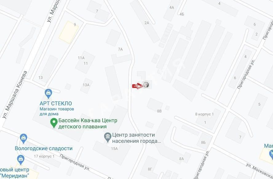 Вологда, 6 микрорайон, Пригородная улица, дом 8в