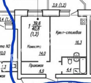 Вологда, 5 микрорайон, Летчика Каберова улица, дом 1а