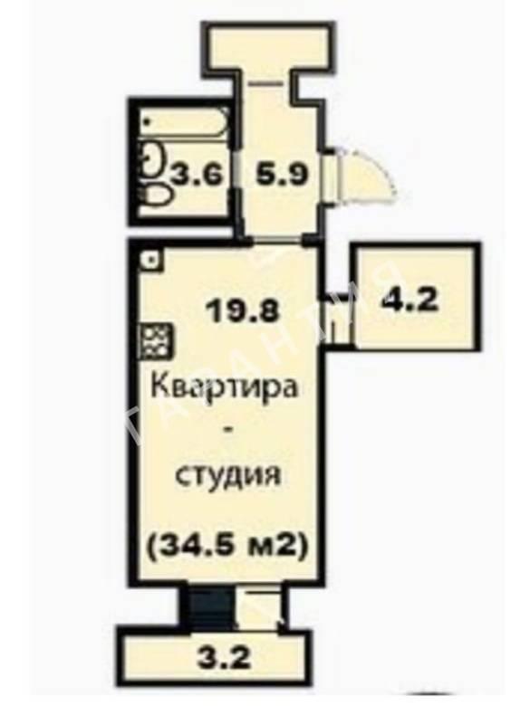 Вологда, 2-4 микрорайоны, Гагарина улица, дом 80Ак4